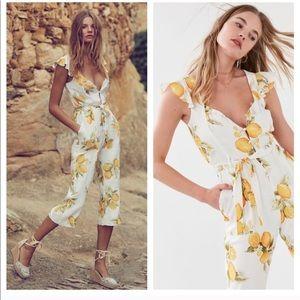 For Love & Lemons Lemon jumpsuit